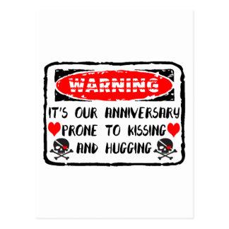 Anniversary Postcard