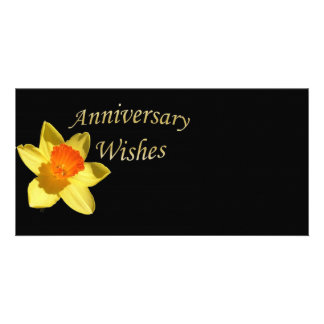 Anniversary Wishes - 10th Wedding Anniversary Customised Photo Card