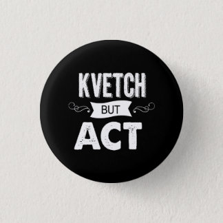 Announce your intentions with this 3 cm round badge