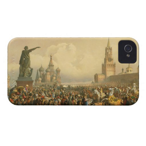 Announcement of Coronation Day by Vasily Timm 1856 iPhone 4 Case-Mate Case