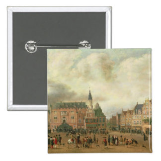 Announcement of the Peace of Breda 15 Cm Square Badge