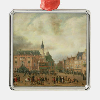 Announcement of the Peace of Breda Christmas Ornament