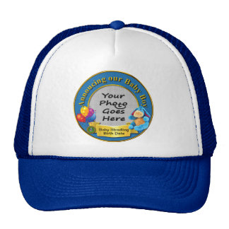 Announcing Our Baby Boy Truckers Hat