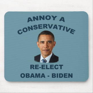 Annoy A Conservative Mousepad