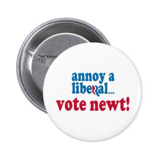 Annoy a Liberal Pinback Button