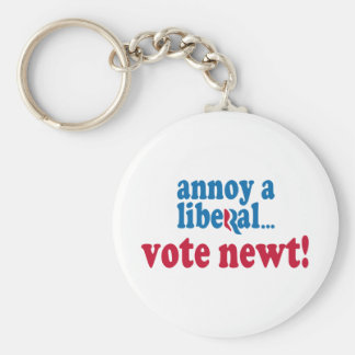 Annoy a Liberal Keychain