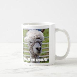 Annoyed Alpaca Mug
