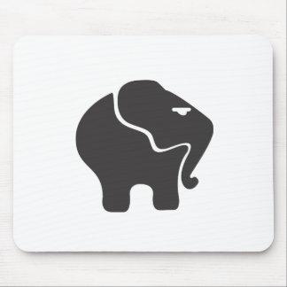 Annoyed Elephant Mousepads