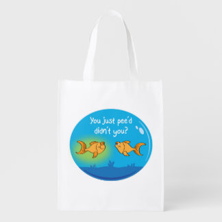 Annoyed Goldfish Reusable Grocery Bag