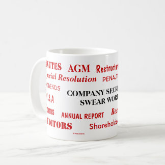 Annoying But Funny Company Secretary Swear Words Coffee Mug