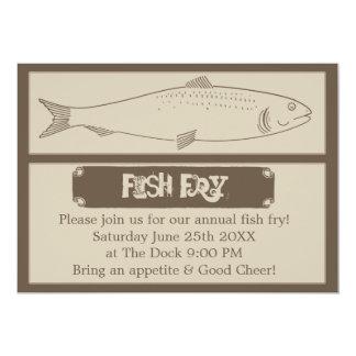 Annual Fish Fry Invitation