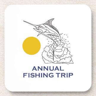 ANNUAL FISHING TRIP COASTER