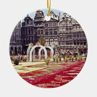 Annual Flower Festival at La Grande Place, Brussel Christmas Ornament