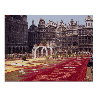 Annual Flower Festival at La Grande Place, Brussel Post Cards