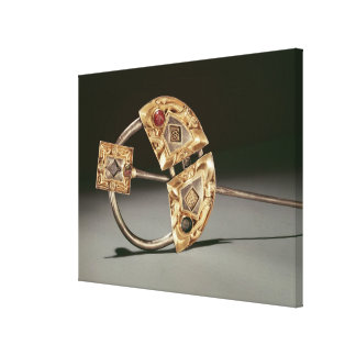 Annular brooch, Ardagh Hoard, Reerasta Canvas Print
