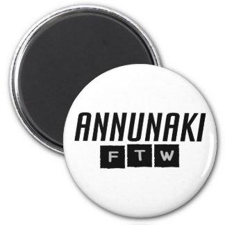 Annunaki FTW 6 Cm Round Magnet