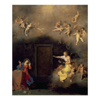 Annunciation, 1635 poster