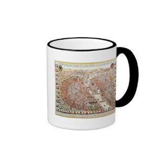 Annunciation, 17th c. (panel) ringer coffee mug