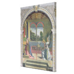 Annunciation 2 stretched canvas print