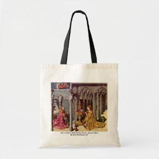 Annunciation Altar Middle Panel: Annunciation Bag