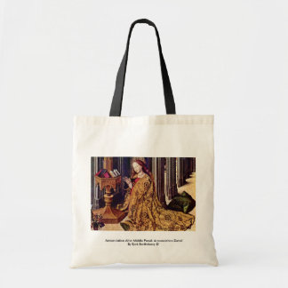 Annunciation Altar Middle Panel: Annunciation Budget Tote Bag