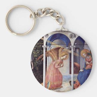 Annunciation Altarpiece With 5 Predellatafeln Key Chains