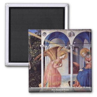 Annunciation Altarpiece With 5 Predellatafeln Magnet
