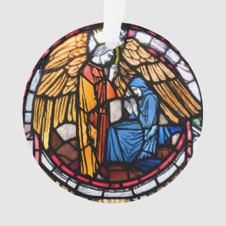 Annunciation and Nativity Ornament