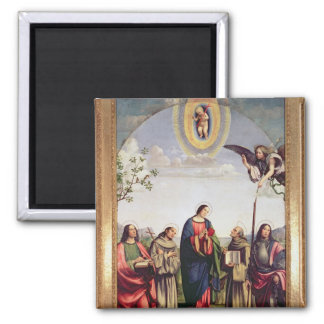 Annunciation and Saints, 1500 Magnet