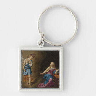 Annunciation Angel and Mary Key Ring
