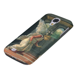 Annunciation (angel detail) by Sandro Botticelli Galaxy S4 Case