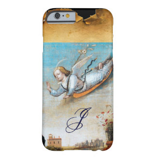 ANNUNCIATION ANGEL  MONOGRAM ,Brown Parchment Barely There iPhone 6 Case