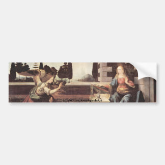 Annunciation Bumper Sticker