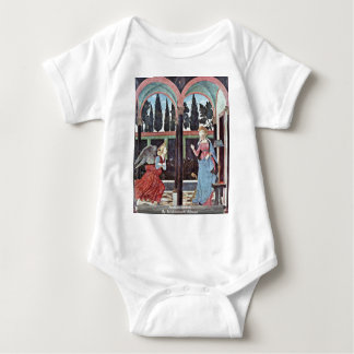 Annunciation By Baldovinetti Alesso T-shirts