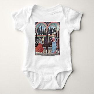 Annunciation By Baldovinetti Alesso T-shirts
