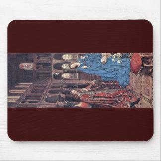 Annunciation By Eyck Jan Van (Best Quality) Mousepad