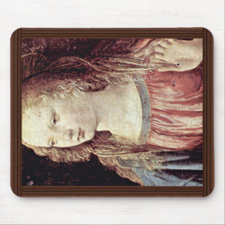Annunciation  By Leonardo Da Vinci Mouse Pad