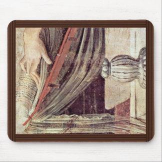 Annunciation  By Leonardo Da Vinci Mousepads