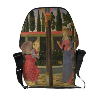 Annunciation, c.1457 (tempera on panel) courier bags