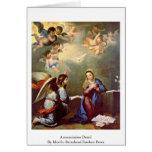 Annunciation Detail Greeting Card