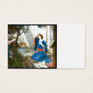 Annunciation in the Garden