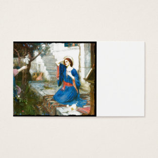 Annunciation in the Garden Business Card