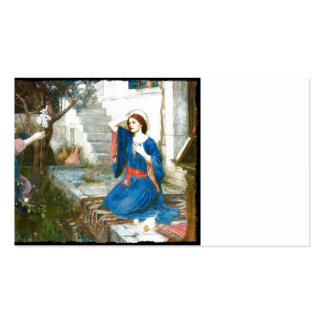 Annunciation in the Garden Pack Of Standard Business Cards