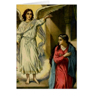 Annunciation Mass Card