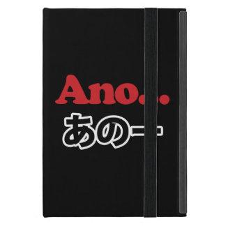 Ano... (Japanese for Umm...I Was Thinking) iPad Mini Case