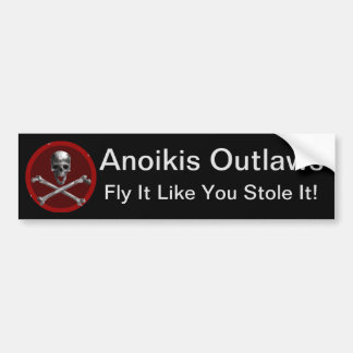 Anoikis Outlaws Bumper Sticker [Polygon]