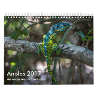Anoles 2017 - An Anole Annals Production Wall Calendars