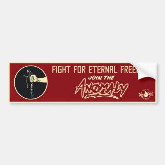 """Anomaly"" of The Fountain Bumper Sticker"