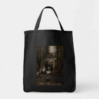 Anomolie Alone Grocery Tote Bag