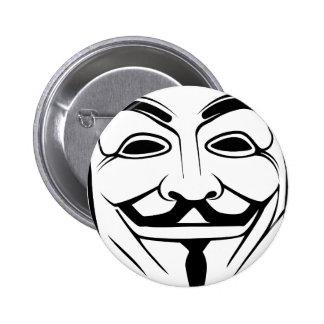 Anon 6 Cm Round Badge